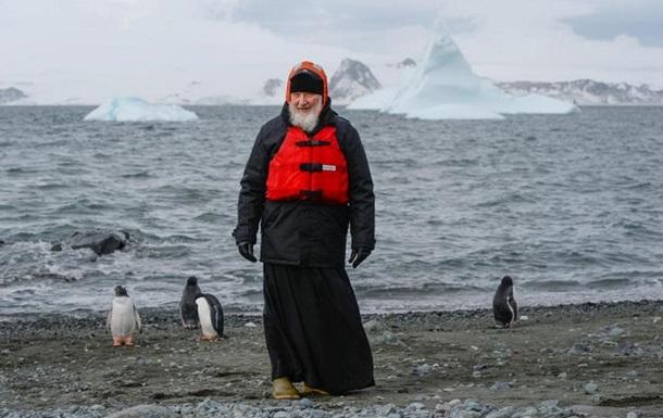 Глава РПЦ встретился с пингвинами в Антарктиде