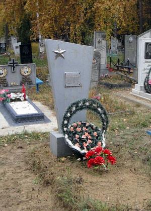 Могилка героя на кладбище в г.Борисов, Беларусь Кавалер 3-ёх орденов Славы, Кузнецов Иван, война, история, ссср, факты