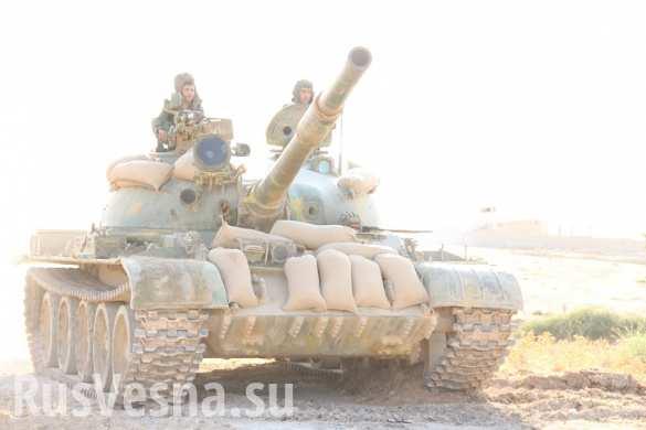 ИГИЛ пытается наступать на армию САР и «нусру» и одерживает временные тактические успехи. Продолжаются кровавые «разборки» и «слив» боевиков — подробная сводка из Сирии за сутки от «Тимура»
