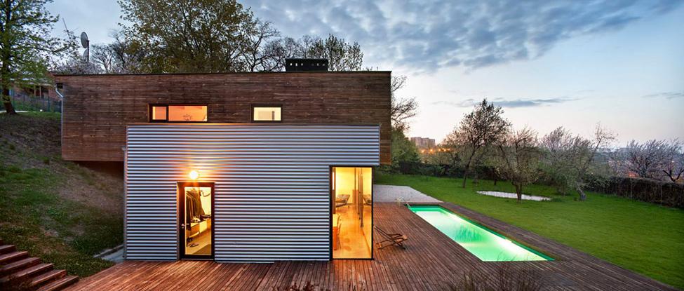 Шикарный дом с бассейном из …