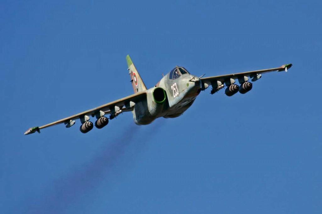 Украинские летчики не смогли подлететь к Донецку