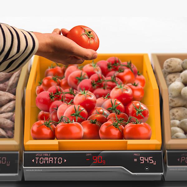 Взвешивание овощей и фруктов новым способом