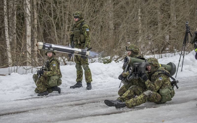 Минобороны Эстонии получило партию противотанковых управляемых ракет Javelin