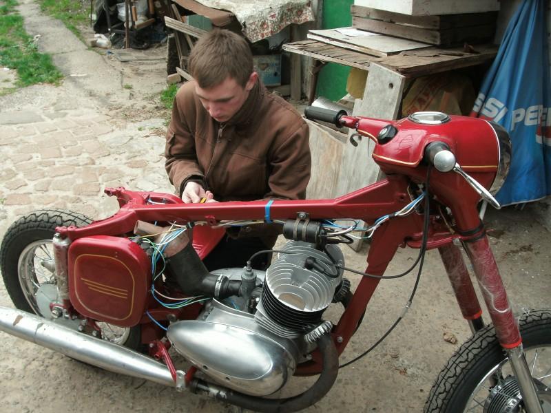 Jawa 360 - Восстановление jawa, авто, мото, мотоцикл, ява