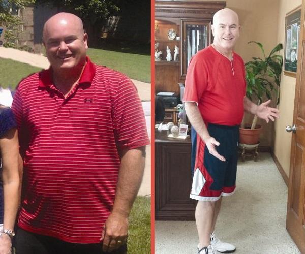Мужчина похудел на макдональдсе