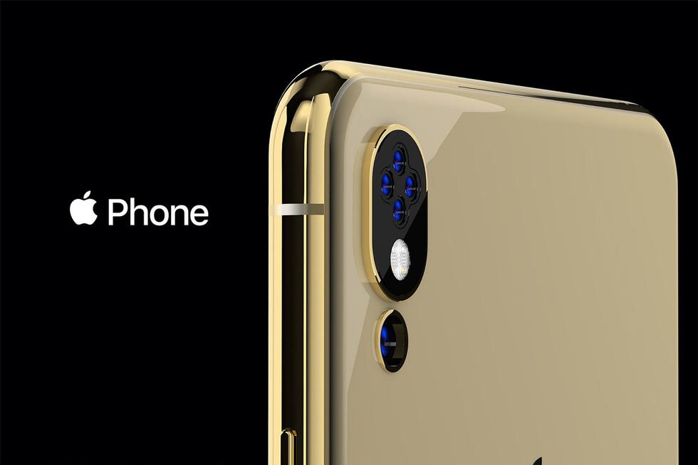 Дизайнер создал концепт будущего iPhone с пятью камерами и челкой сбоку