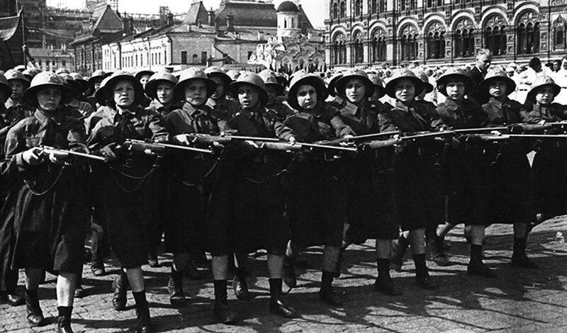 ОСОВИАХИМ Великая Отечественная, Женщины на войне, снайпер №1