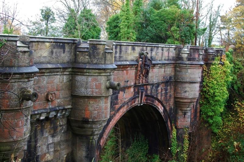 14. Мост Овертоун, Шотландия интересное, история, поучительное, факты