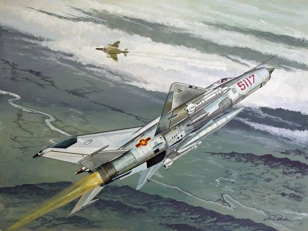 «Фантом» против МиГа: противостояние во вьетнамском небе