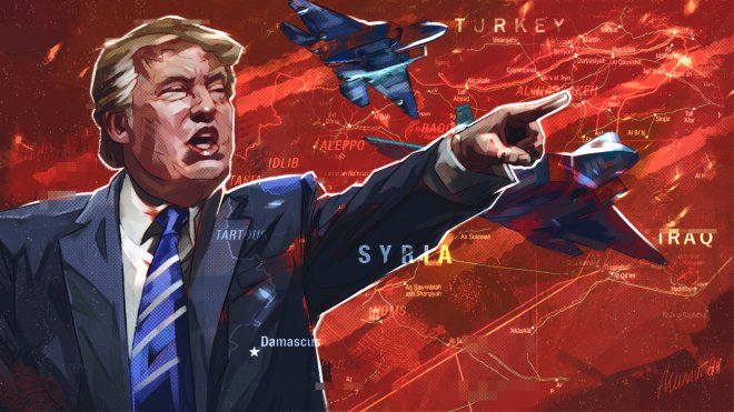 Дональд Трамп подписал указ о введении санкций
