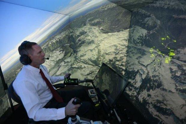 Компьютер заменит пилотов в «догфайте»