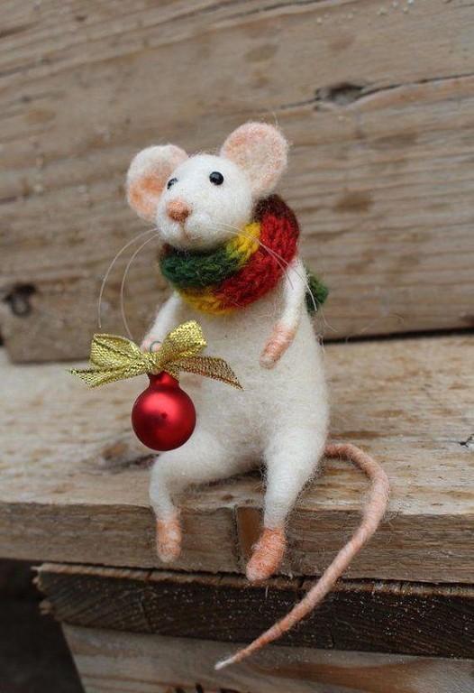 Символ года из шерсти. Со старым Новым годом всех творческих людей! handmake,куклы и игрушки,поделки своими руками