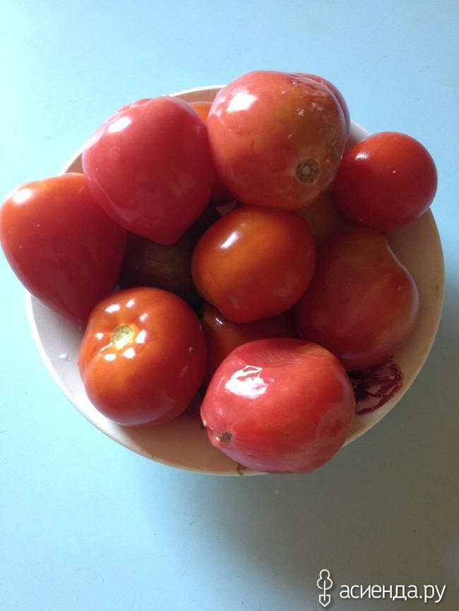 По просьбам девочек рецепт помидоров из бачка