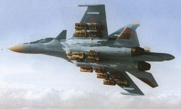Наши Су-34 в Сирии вышли на …