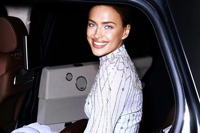 Ирина Шейк в роскошном вечернем платье на торжестве в Букингемском дворце