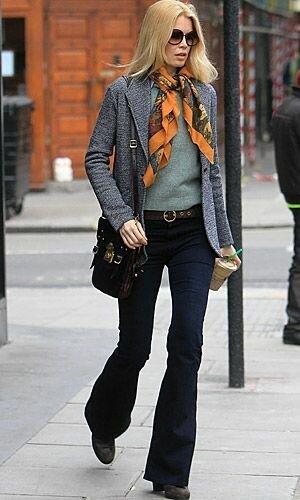 Красота и стиль после 45+ на примере Клаудии Шиффер гардероб,знаменитости,Клаудия Шиффер,мода и красота,стиль,супермодели