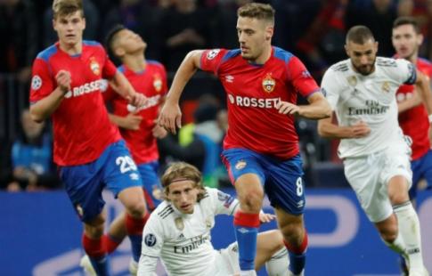 """ЦСКА в Мадриде разгромил """"Реал"""", но вылетел из еврокубков"""