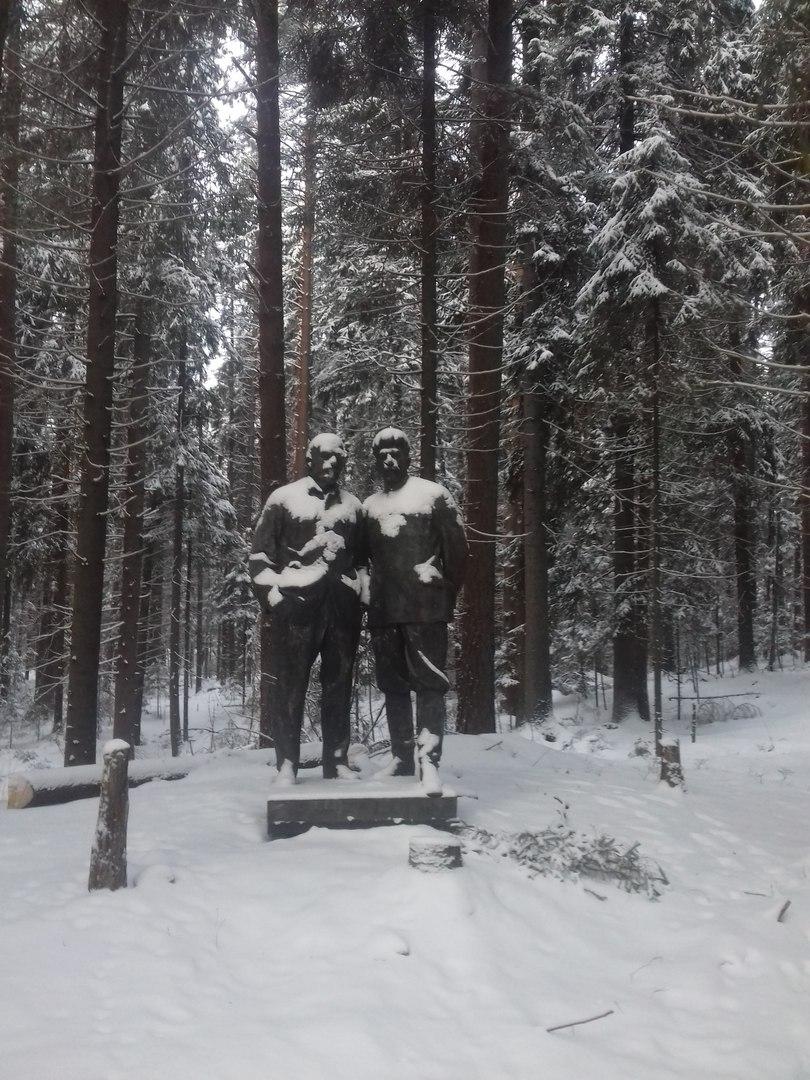 Сталин в Янкале
