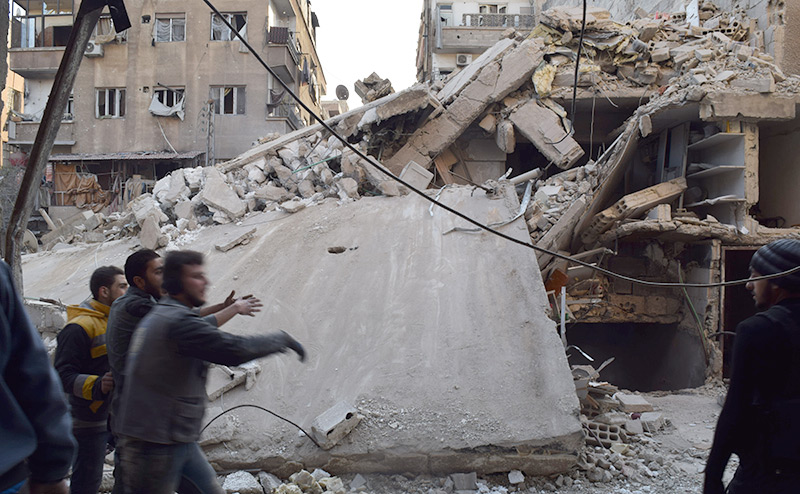 США рвут Сирию на куски, выдавив Россию