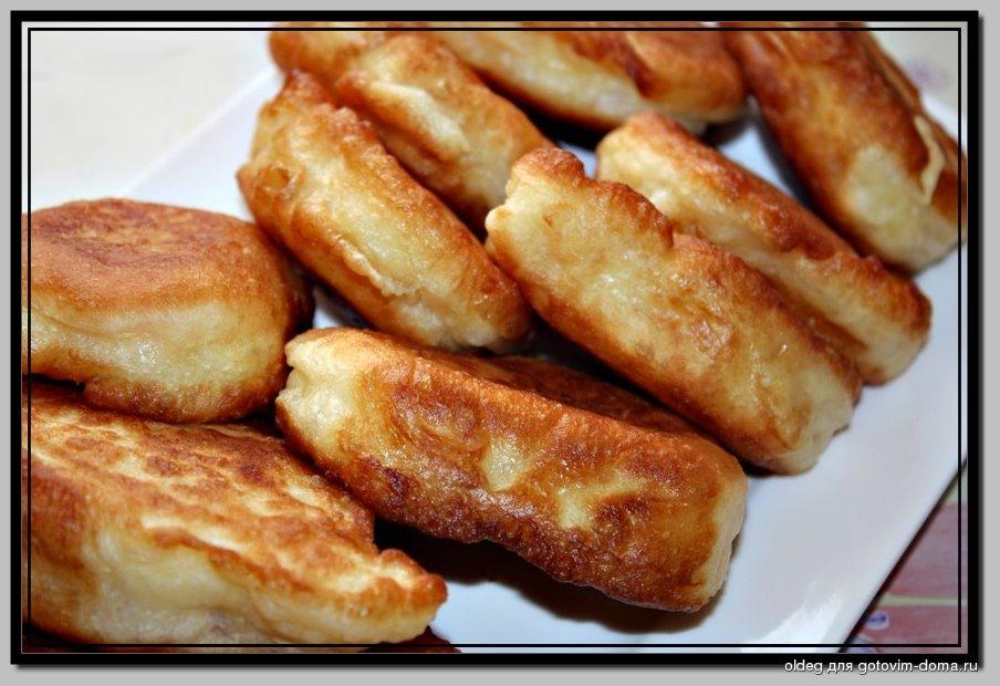 Пышные оладушки на дрожжах- любимый рецепт