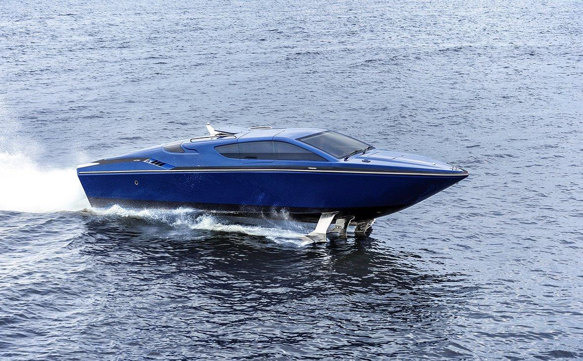 Скоростной «Сагарис»: судно на подводных крыльях заинтересует иностранцев