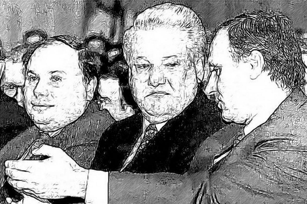 Беззаконие. Бурбулис вынырнул из Леты и восхваляет гибель СССР