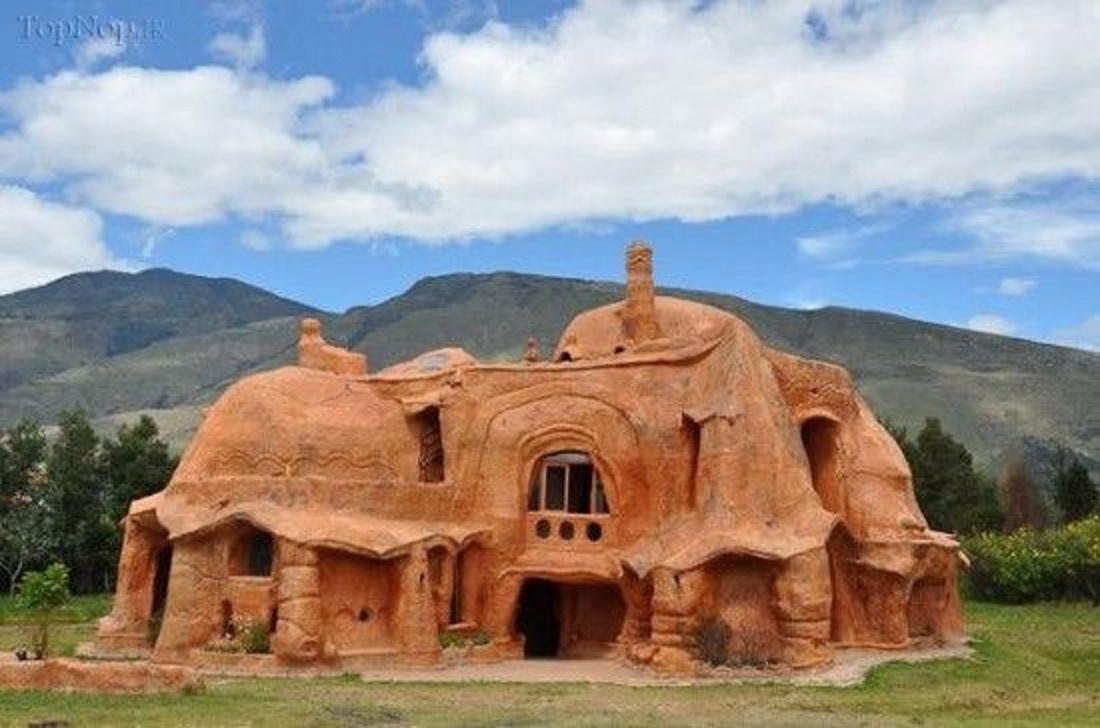 Экодом из глины от испанского архитектора
