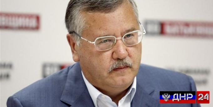 Гриценко пригрозил украинскому лидеру судом