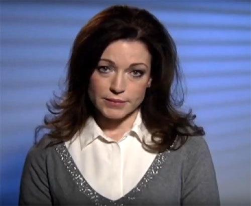 Алёна Хмельницкая записала видеообращение к Путину