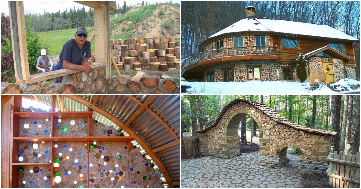 Когда весь дом — дрова: экологичная постройка, заслуживающая внимания