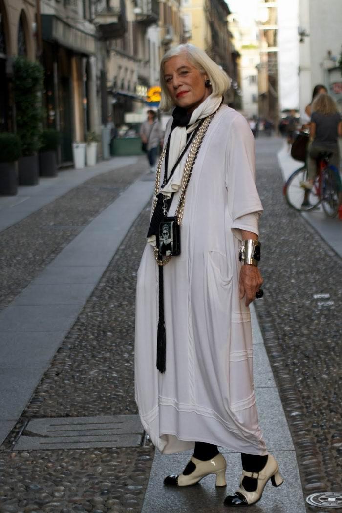 блузки модные для пожилых людей