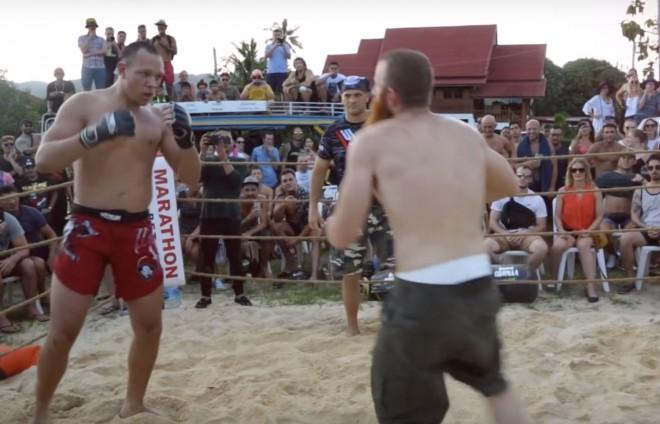 Викинг приехал в Бразилию и вышел против ММА-профи бой