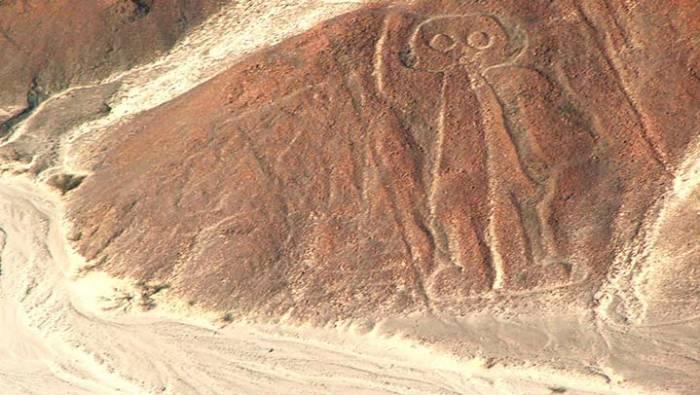 Гигантские изображения долины Наска.