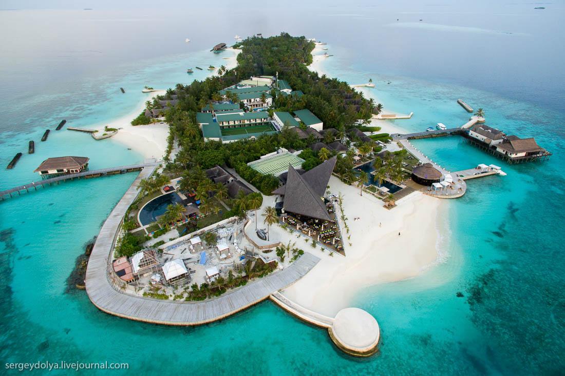 Как устроен отель-остров