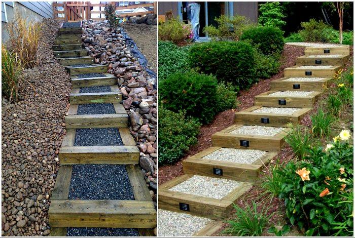 Примеры удивительных лестниц и дорожек, которые подойдут для оформления вашего участка вдохновение