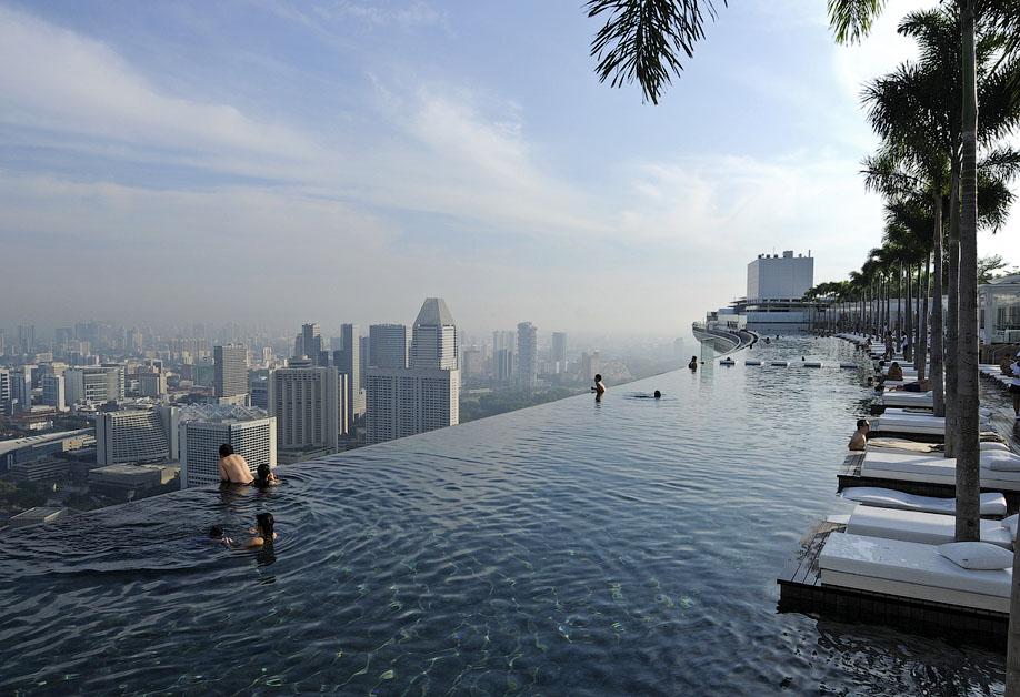 марина бей сингапур бассейн на крыше фото эвакуационных знаков безопасности