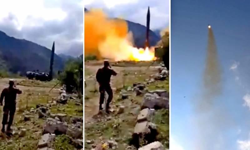Армения применила самую мощную ракету в своем арсенале 9К72 «Эльбрус» Новости