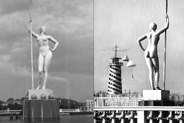 Что на самом деле символизировала «Девушка с веслом» и зачем ее ставили во всех парках СССР