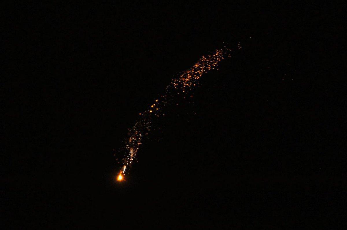 Ночной обстрел аэропорта Дамаска