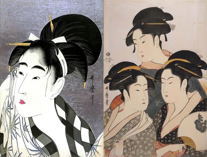 Аморальное искусство: Как Китагава Утамаро прославился изображениями гейш и оскорбил правительство Японии одной гравюрой