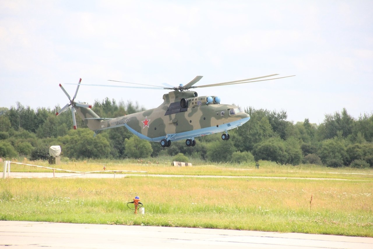 Новый Ми-26 в Хабаровске