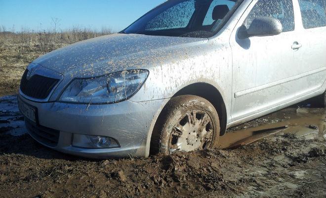 Выезжаем из грязи без чужой помощи автомобиль,внедорожник,грязь,как выехать из грязи,машина,Тренинг