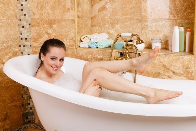 Как сделать ванну белоснежно…