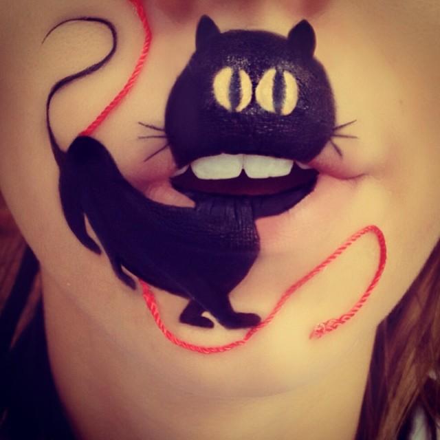 Вот как нужно красить губы Лаура Дженкинсон, губы, макияж
