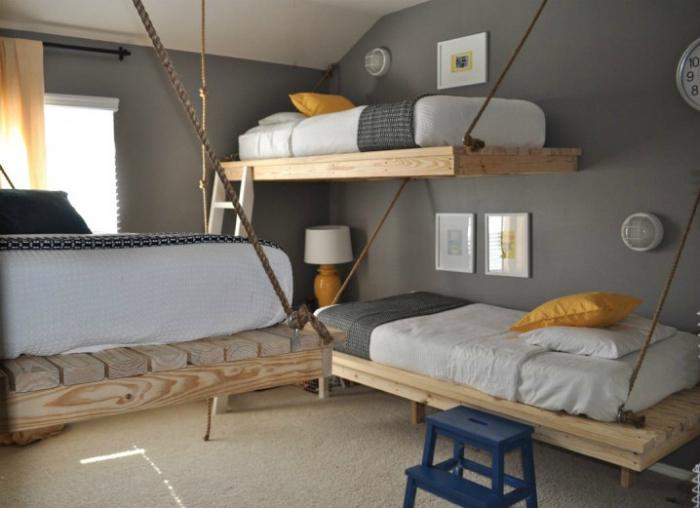 Топ 19 спален для экономящих пространств12