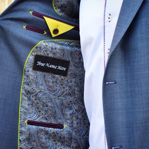 Изюминки мужских костюмов детали,одежда,рукоделие,сделай сам