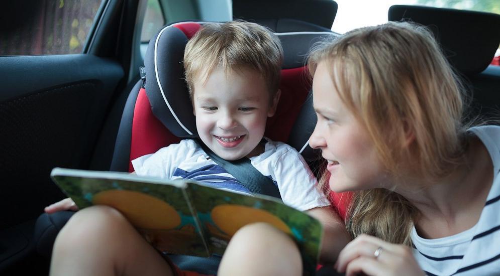 8 способов предотвратить укачивание детей в автомобиле