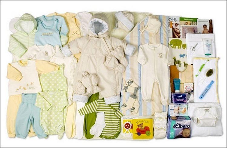 Подарочный набор для новорожденного от собянина