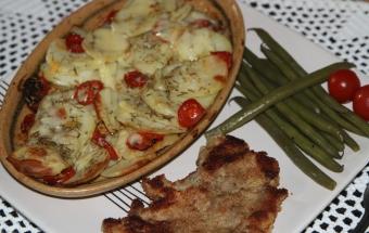 Картофель, запеченный с поми…