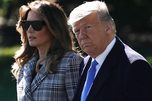 Дональд и Мелания Трамп прибыли на траурную церемонию в Питтсбург